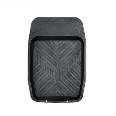 Коврик салона Autoprofi ванночка для переднего ряда 1пр, черный 69*48 (MAT-150f BK)