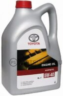TOYOTA Engine Oil 5W-40 (5л) Масло моторное       0888080375GO
