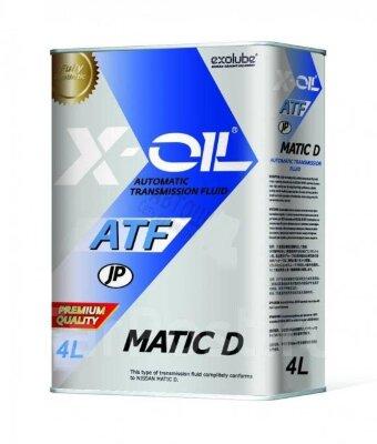 X-OIL ATF MATIC D (4л) Жидкость для АКПП