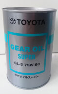 TOYOTA Gear Oil Super 75W-90 (1л) Масло трансмиссионное