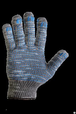 Перчатки 10 класс (4)   ХБ с ПВХ напылением Графит