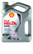 SHELL HX 8 ECT 5W-30  (4л) Масло моторное