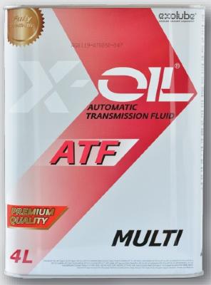 X-OIL ATF MULTI (4л) Жидкость для АКПП