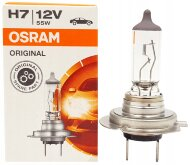 """Лампа авто """"Osram"""" H7 12V 55W PX26d (#64210)"""