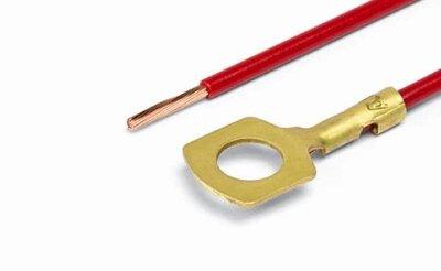 АХ-389-01 Контакт кольцевой D=6,2 мм, обжатый с пр