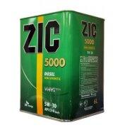 ZIC X5000 Diesel 10W-40 (6л) Масло моторное полусинтетическое