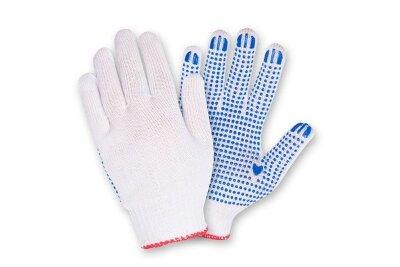Перчатки 10 класс (4) с ПВХ (стандарт)