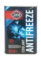Антифриз AWM Ready Mix G12+ (1л) красный, в метал. канистре