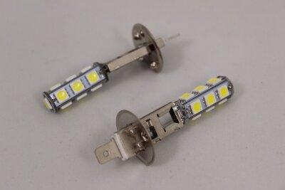 Лампа Луч светод 12V H3 белая 13SMD 5050 диодов
