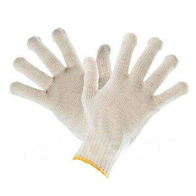 Перчатки 10 класс (6)  ХБ  люкс