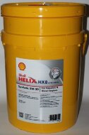 Розлив: SHELL HX 8 Syntetic 5W-30 (55л) Масло моторное синтетическое
