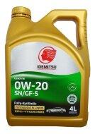 Idemitsu 0W-20 (4л) SN/GF-5 Масло моторное синтетическое