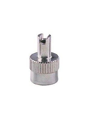 Колпачок металлический TECH для вентилей со шлицем под отвёртку