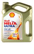 SHELL ULTRA 0W-40 (1л) Масло моторное синтетическое