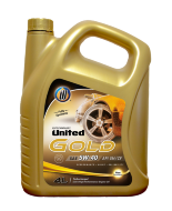 UNITED GOLD 5W-40 (4л) SN/CF Масло моторное синтетическое