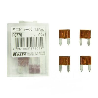 Предохранители Koito F0770 (7.5A - mini)