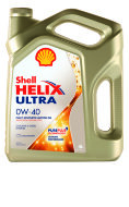 SHELL ULTRA 0W-40 (4л) Масло моторное синтетическое