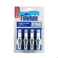 Свеча зажигания FINWHALE F-706 Инжекторная (комплект)