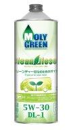 MOLYGREEN CLEAN DIESEL 5W-30 DL-1 (1л) Масло моторное синтетическое