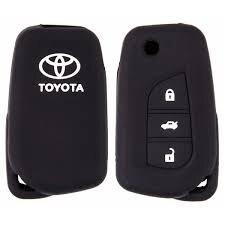 Чехол на ключ автомоб. SKYWAY силиконовый Toyota (New Corolla)