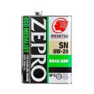 Idemitsu Zepro Eco Medalist 0W-20 (1л) SN/GF-5 Масло моторное синтетическое