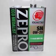 Idemitsu Zepro Eco Medalist 0W-20 (4л) SN/GF-5 Масло моторное синтетическое