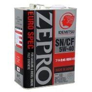 Idemitsu Zepro Euro 5W-40 (4л) Масло моторное синтетическое