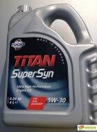 TITAN Supersyn 5W-30 (1л) Масло моторное синтетическое