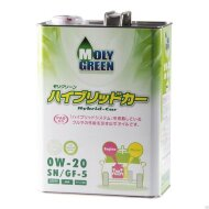 MOLYGREEN HYBRID 0W-20 (4л) Масло моторное синтетическое