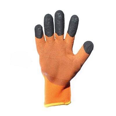 Перчатки акриловые с п/п покрытием, утепленные