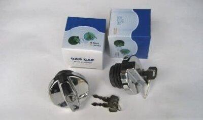 Крышка бензобака LADA с ключами, пластик хром