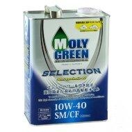 MOLYGREEN SELECTION 10W-40 (4л) Масло моторное синтетическое