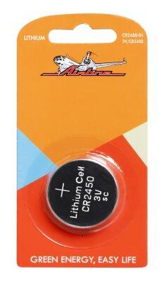 Батарейка AIRLINE CR2450 3V (для брелков сигнализаций)