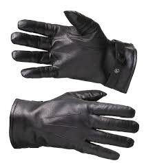 Перчатки кожаные утеплёные