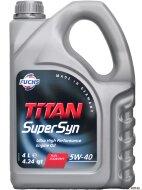 TITAN Supersyn 5W-40 (4л) Масло моторное синтетическое