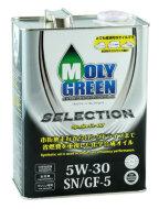 MOLYGREEN SELECTION 5W-30 (4л) Масло моторное синтетическое
