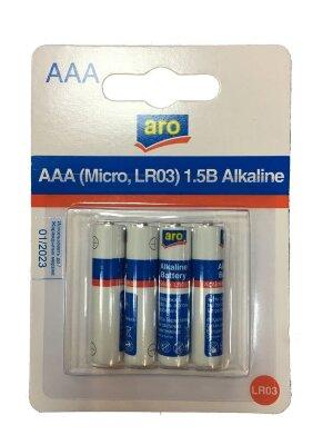 Батарейка Aro AAA-LR03 мизинчиковые