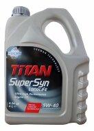 TITAN Supersyn LongLife 5W-40 (4л) Масло моторное синтетическое