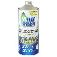 MOLYGREEN SELECTION 5W-40 (1л) Масло моторное синтетическое