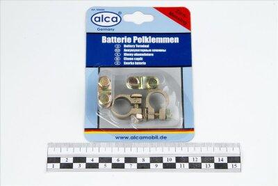 Клеммы аккумуляторные ALCA латунные в блистере 509-000