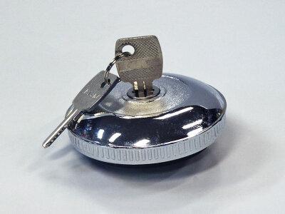 Крышка бензобака VOLGA с ключами, металл хром