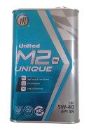UNITED M2 S UNIQUE 5W-40 (1л) SN/CF Масло моторное синтетическое