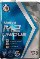 UNITED M2 UNIQUE 5W-30 (1л) SN/CF Масло моторное синтетическое