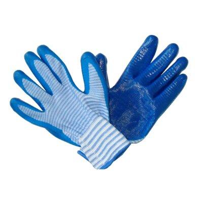 Перчатки нейлоновые с нитриловым обливом Супер Люкс