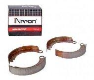Колодки тормозные задние Nippon ABS1802 барабанные (Газель 3302)