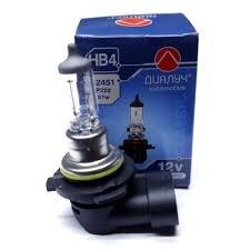 Лампа авто ДиаЛУЧ 12V 51W P22D Головного света (#12451)