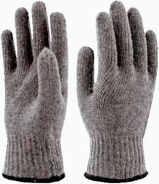 Перчатки полушерстяные ЗИМА р-р 9 (10пар/связка)