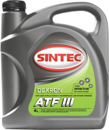 SINTOIL ATF D-III (4л) Жидкость для АКПП
