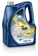 NESTE Premium+ 5W-50 (4л) Масло моторное синтетическое