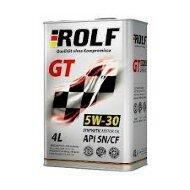 ROLF GT 5W30 SN/CF (4л АКЦИЯ! 4л+1л) Масло моторное синтетическое